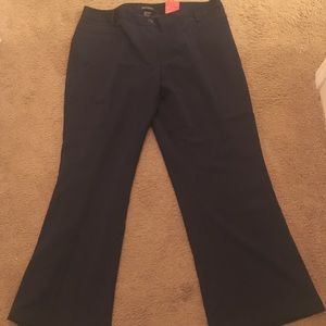 29ec9cc42c1c3 Ashley Stewart Dark Blue Dress Pants